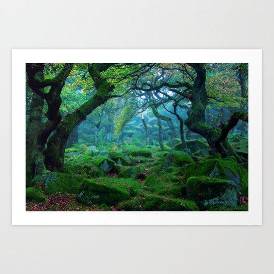 Forest #woods Art Print