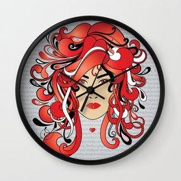 I AM A DELTA WOMAN Wall Clock
