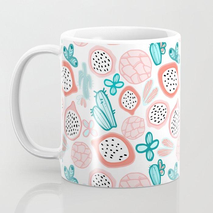 Pitahaya and Cactus Garden Coffee Mug