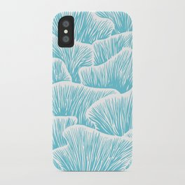 Mushroom Bouquet - Light Blue iPhone Case