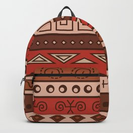 African Tribal Pattern No. 18 Backpack