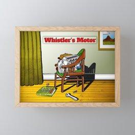 Whistler's Motor Framed Mini Art Print