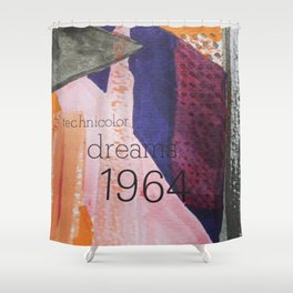 Technicolor Dreams Shower Curtain