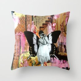 Something in What Feels Like Forever Throw Pillow