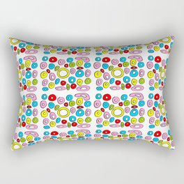 Circle and abstraction 4-abstraction,abstract,geometric,geometrical,pattern,circle,sphere Rectangular Pillow