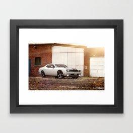 Dodge Challenger SRT8 Framed Art Print