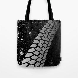 Grunge Skid Mark Tote Bag