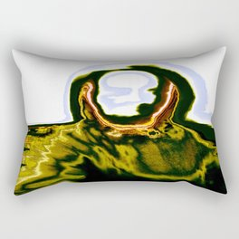 Iguana Man 01 Rectangular Pillow