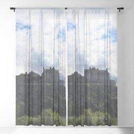Edinburgh Castle Sheer Curtain