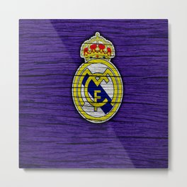 Real Madrid CF : Best Futbol Club Metal Print