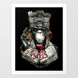 Echoes of Savages Art Print