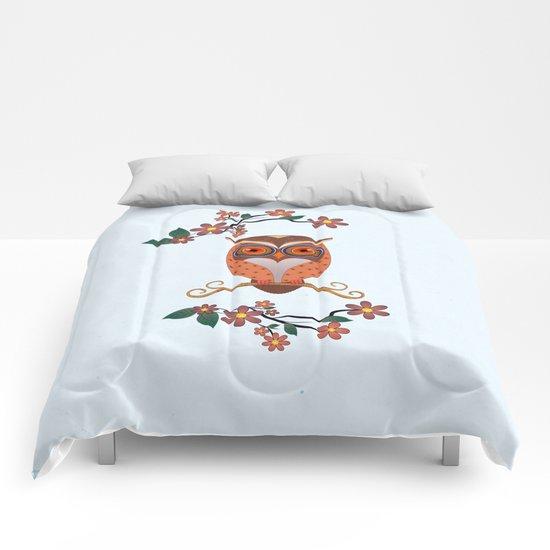 Summer Owl Comforters