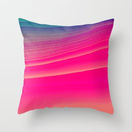 pink candy Throw Pillow