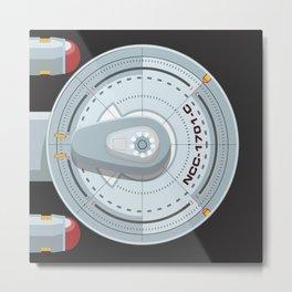 Enterprise - Star Trek Metal Print