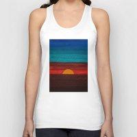 sunset Tank Tops featuring Sunset by sinonelineman