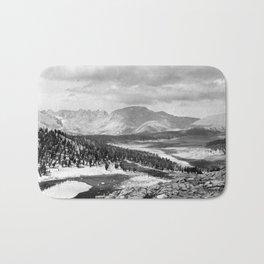 The Sierra Nevada: John Muir Wilderness, Sequoia National Park - California Bath Mat