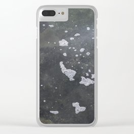Water pattern Kits Beach Vancouver Clear iPhone Case