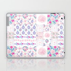 A Shabby Chic Patchwork Laptop & iPad Skin