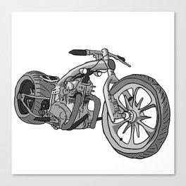 Juan's Chopper Canvas Print