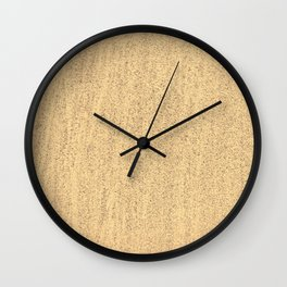The Sand (Color) Wall Clock