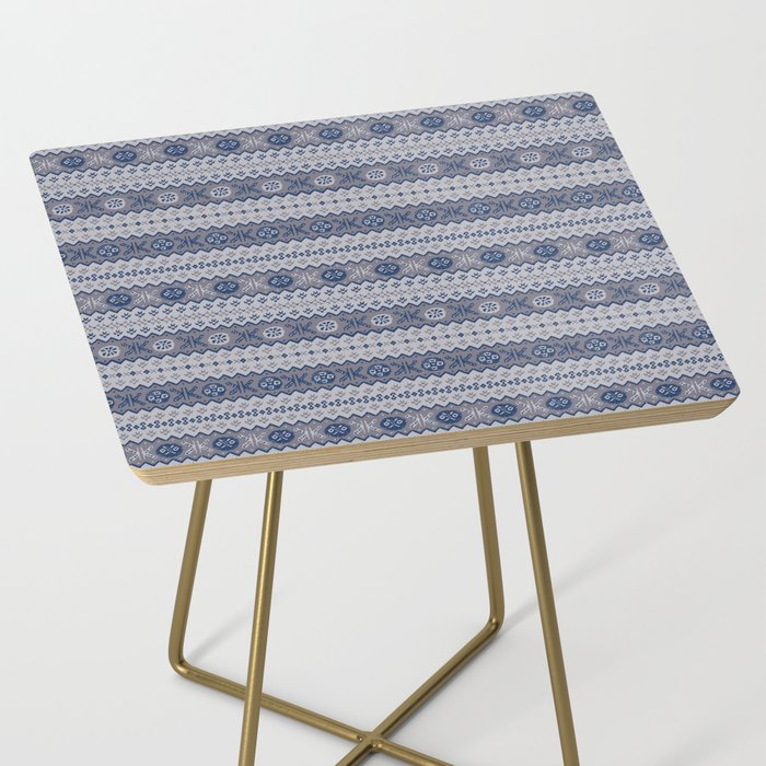 Granny's Fairisle Side Table
