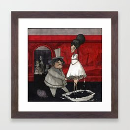 The Dressmaker. Framed Art Print