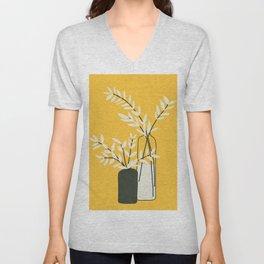 Abstract Vases Unisex V-Neck
