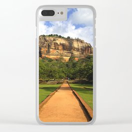 therock Clear iPhone Case