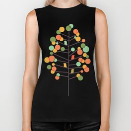 Happy Tree - Tweet Tweet Biker Tank