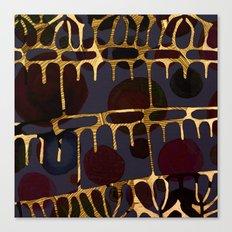golden decor Canvas Print