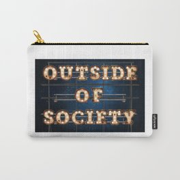 Outside of Society - Wall-Art for Hotel-Rooms Carry-All Pouch