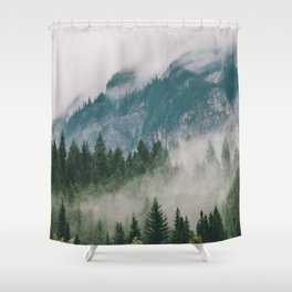 Vancouver Fog Shower Curtain
