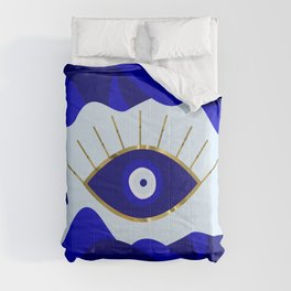 Lava All Seeing Evil Eye Comforters