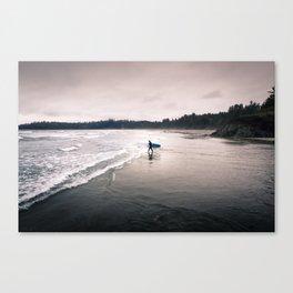 Cold Surf Canvas Print