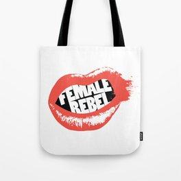 Female Rebel Tote Bag