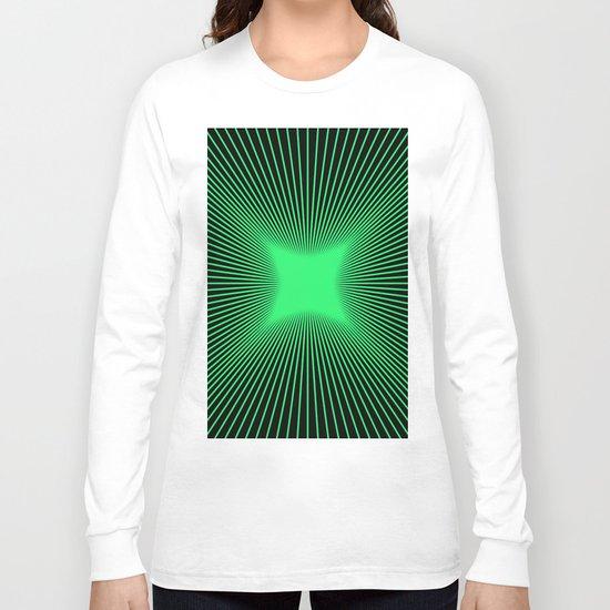The Emerald Illusion Long Sleeve T-shirt