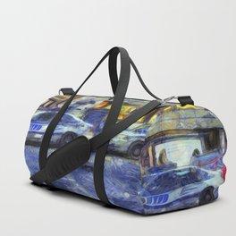 New York police Department Van Gogh Duffle Bag