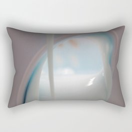 Afternoon with Lucy Rectangular Pillow