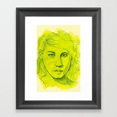 Desmid Framed Art Print