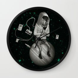 SPACE CRAB Wall Clock