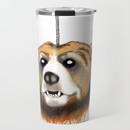Decapitated Bear  Travel Mug