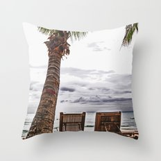 When the Time Stood Still Throw Pillow