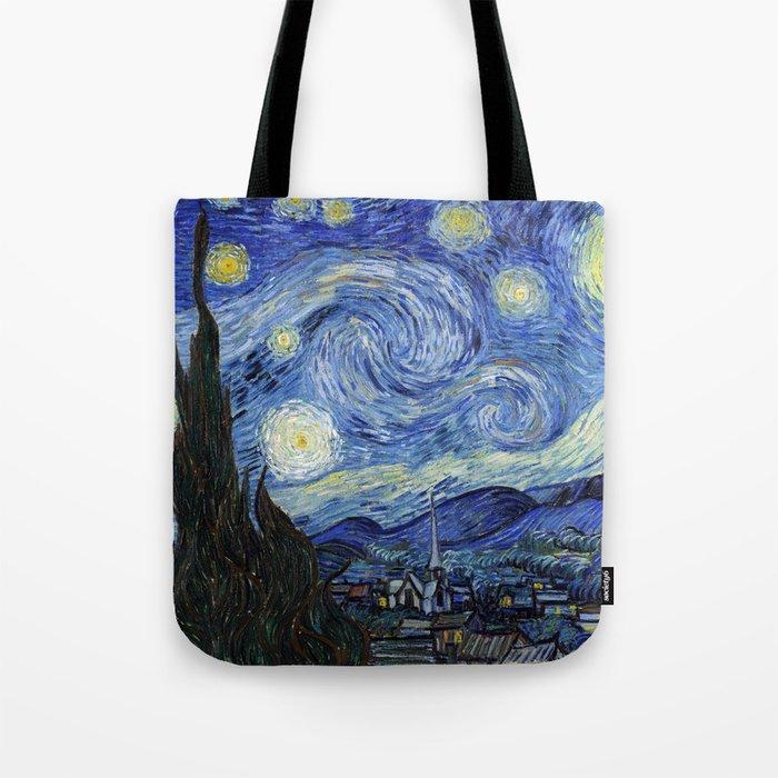 Starry Night by Vincent Van Gogh Umhängetasche