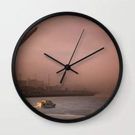 Seattle Morning Wall Clock