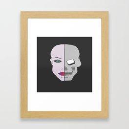 Jekyll and Hyde. Framed Art Print