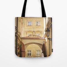 Golden Afternoons in Prague Tote Bag