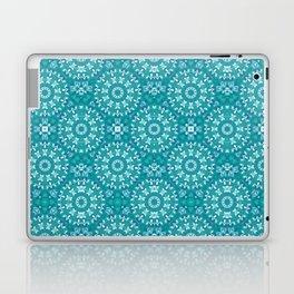 Green circle pattern 3 Laptop & iPad Skin