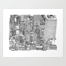 New York View 3 Art Print