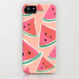 i grew a watermelon iPhone Case