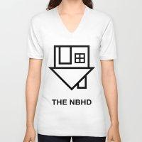 the neighbourhood V-neck T-shirts featuring the neighbourhood by Goes4